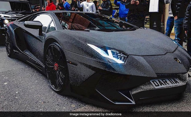 Diamond Encrusted Car: Bling It On: Instagram Model Covers Lamborghini In 2