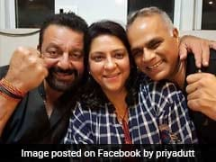 Priya Dutt To File Poll Papers On Monday, Accompanied By Sanjay Dutt