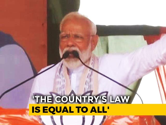 "Video : ""Raid Modi's Home Too If He Does Wrong"": PM On Opposition Criticism"