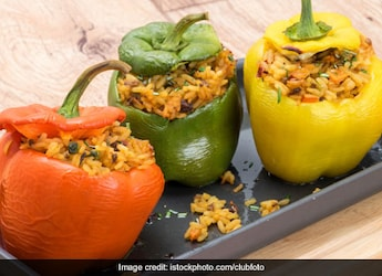 Weight Loss: Low-Calorie Stuffed Capsicum To Keep Your Diet Goals Intact