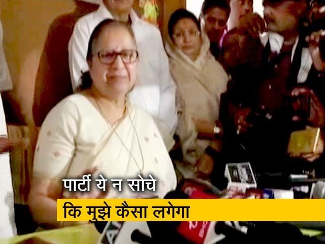 Videos : लोकसभा चुनाव नहीं लड़ेंगी सुमित्रा महाजन