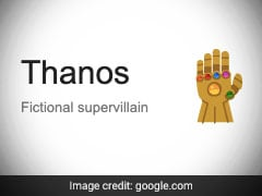 "Drop Everything And Search ""Thanos"" On Google For ''Endgame'' Surprise"