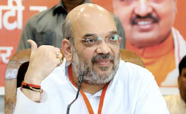 In Gandhinagar, Strong Backroom, Giant Cut-Outs Proxy For Amit Shah