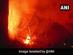 Major Fire At North Delhi Factory, 22 Fire Engines At Spot