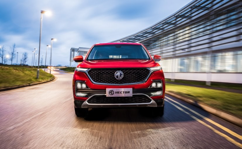 MG Hector will most likely be the second connected car in India.