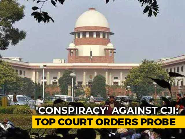 Video : Retired Judge To Probe 'Conspiracy' Against Chief Justice: Supreme Court
