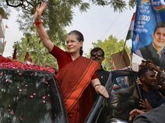 """You Are My Family"": Sonia Gandhi Thanks Supporters For Raebareli Win"