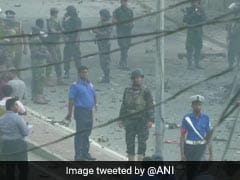On Video, Blast In Van Near Colombo Church When Officials Defused Bomb