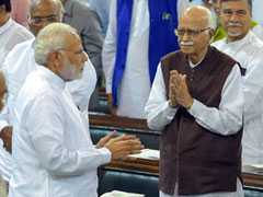 LK Advani, Benched For 1st Time In 20 Years, Congratulates PM, Amit Shah