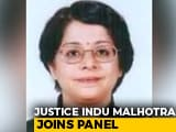 Video : Justice Indu Malhotra Joins Panel Probing Charges Against Chief Justice