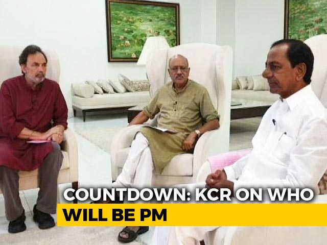 Video : Prannoy Roy Speaks To KCR On Role Of Regional Parties In Polls