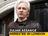 Video : Julian Assange, Living In Ecuador Embassy In London Since 2012, Arrested