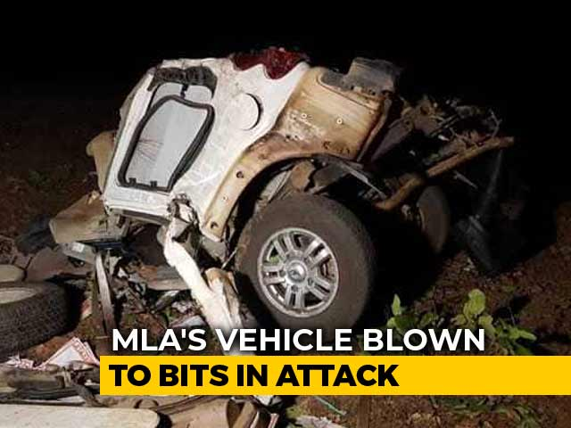 Video : Bulletproof SUV Split Into 2 In Dantewada Maoist Attack On BJP Convoy