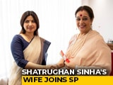 Video : Mr (Shatrughan) Sinha Joins Congress, Mrs (Poonam) Sinha Goes Samajwadi