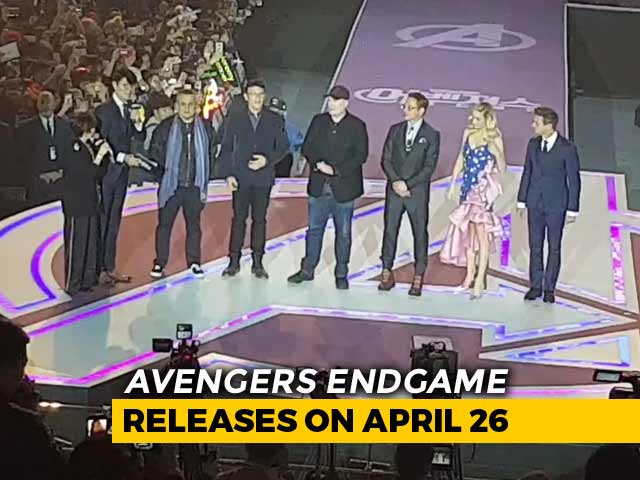 Video : <i>Avengers Endgame</i> Fan Event In Seoul