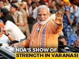 Video : PM's Mega Varanasi Roadshow, Day Before Nomination