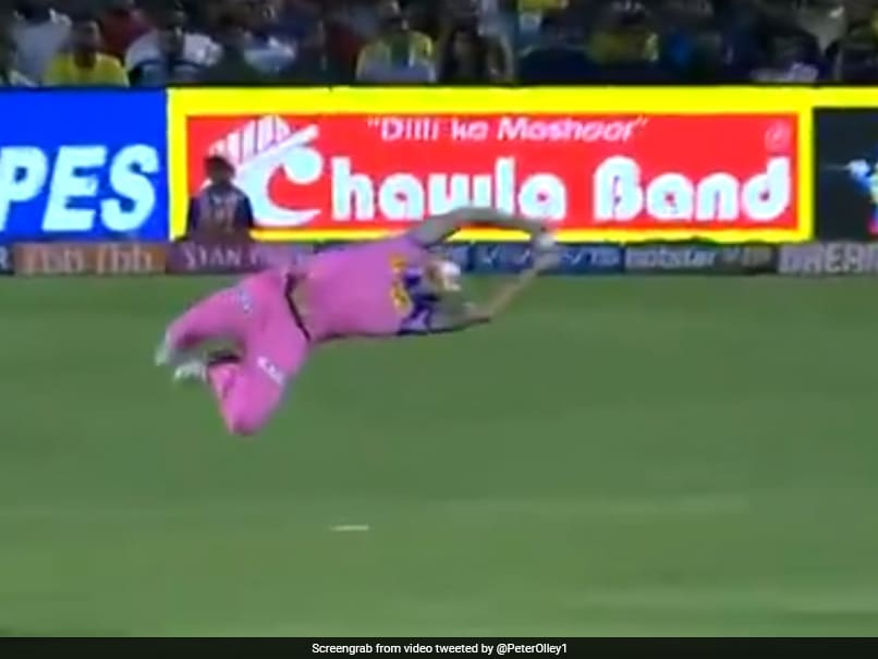Watch: Ben Stokes Takes Spectacular Flying Catch To Dismiss Kedar Jadhav