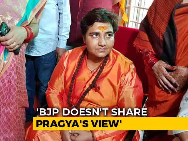 "Video : Sadhvi Pragya's Remarks On 26/11 Hero Hemant Karkare ""Personal"": BJP"