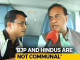 Video : BJP's Northeast Hopes Ride On Himanta Biswa Sarma's Flying Campaign