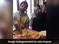 Shahid Kapoor Is Making The Most Of His London Vacation By Binging On Pizza
