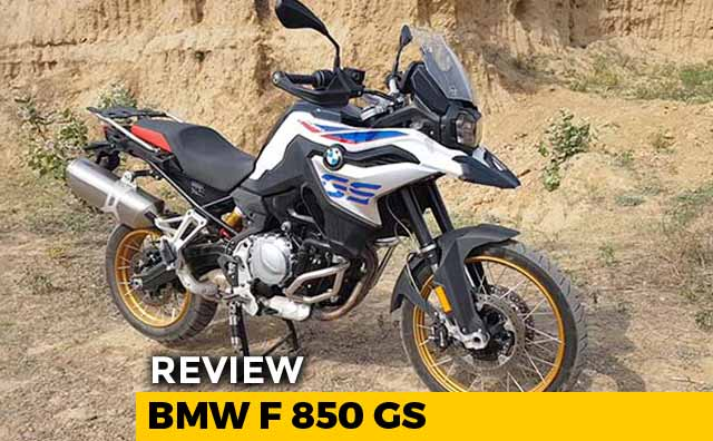 Video : BMW F 850 GS Review