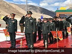 Armies Of India, China Hold Ceremonial Meeting At Ladakh Over Baisakhi