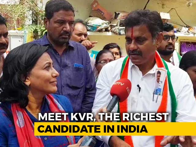 "Video : ""KCR Is New Nizam"": Richest Candidate In Telugu States Slams Ex-Boss"