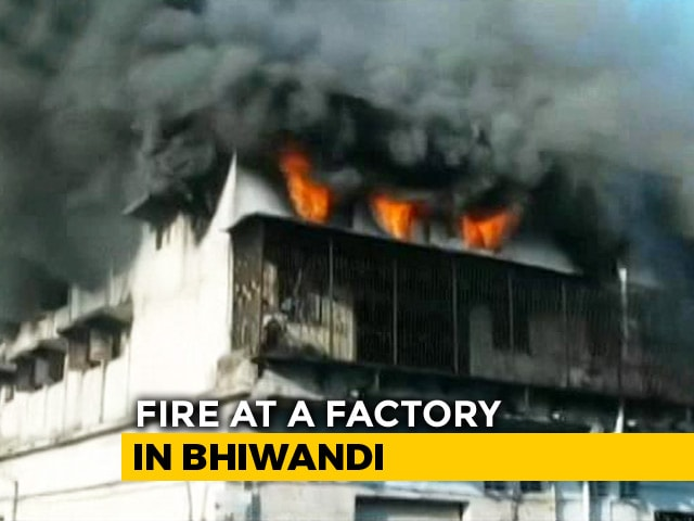 Video : Massive Fire Breaks Out At Thane Factory, No Casualties Reported