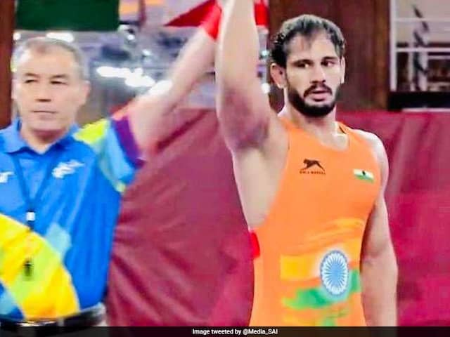 Harpreet Singh Bags Silver, Bronze For Gyanender As India Finish With 16 Medals At Asian Wrestling Championships