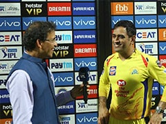 Watch: MS Dhoni Puts A Humorous Spin On CSK