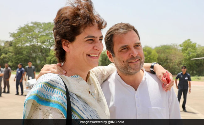 'Love You': Priyanka Gandhi Wishes Rahul On Bhai Dooj With Photo Collage