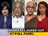 Video : Bengal Cops Transferred: Mamata Banerjee vs Poll Body