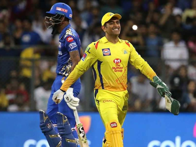 MS Dhoni Reacts As Hardik Pandya Pulls Off A Perfect Helicopter Shot - Watch