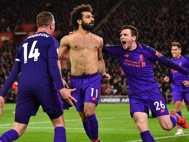 Premier League: Liverpool Leave It Late Again To Beat Southampton