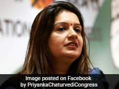"""Goons Get Preference In Congress"": Priyanka Chaturvedi Attacks Own Party"