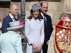 Britain's Queen Elizabeth II Celebrates 93rd Birthday At Easter Service