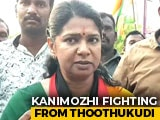 "Video: On Her Campaign Trail, DMK's Kanimozhi Calls BJP Government ""Anti-National"""