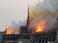 """We Will Rebuild"" Notre Dame, Vows Macron After Catastrophic Fire"