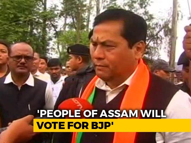 Video : It's An Election About PM Modi Not Citizenship Bill: Sarbananda Sonowal