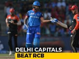 Video : Shikhar Dhawan, Shreyas Iyer Help Delhi Capitals Enter IPL 2019 Playoffs