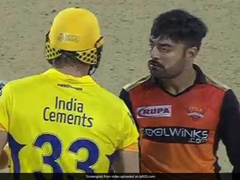 IPL 2019: Rashid Khan Tries to Unnerve Shane Watson, Turns into Viral Memes