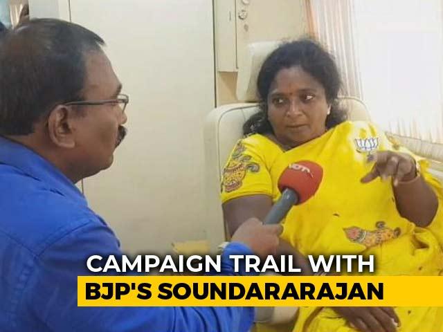 Video: BJP's Tamilisai Soundararajan Says Only DMK Has Anti-National Record
