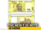 Video : RBI To Issue New Rs. 20 Notes Soon