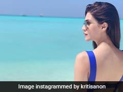 Kriti Sanon, 'Craving' A Beach Getaway, Posts Swimsuit Pic From Maldives