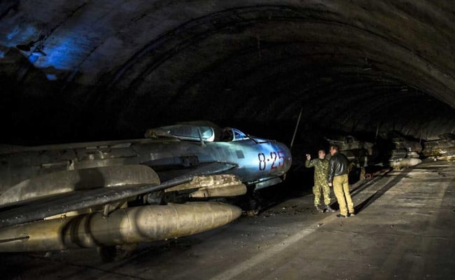 In Hidden Mountain Air Base, Albania Stores MiGs For Sale