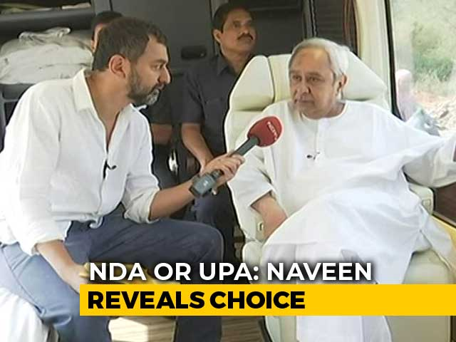 Video : BJP A Threat For Naveen Patnaik In Odisha? His Reply