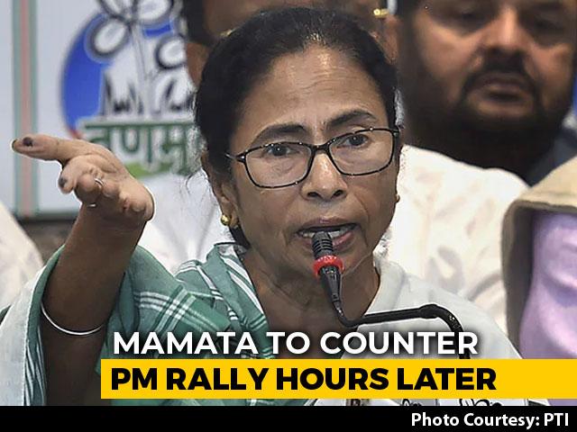 Video : Mamata Banerjee Tweaks Campaign Sked To 'Shadow' PM Modi In Bengal
