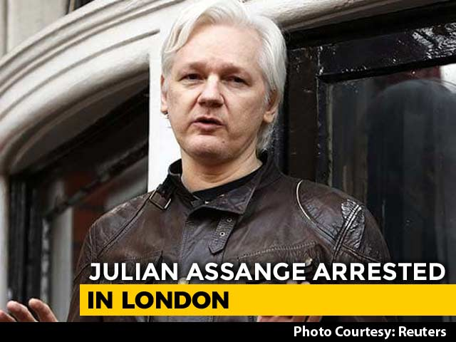 Video : Julian Assange, Living In Ecuador Embassy In London Since 2012, Arrested