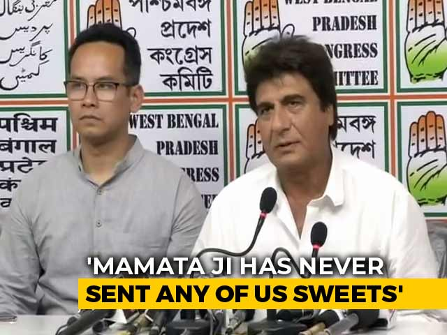 Video : Mamata <i>Ji</i> Knows The Size Of PM's Kurtas: Congress Leader Raj Babbar