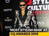 Video : Ranveer Singh Is GQ's 'Most Stylish Man'